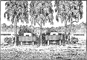 Рис.24. Имитация замаскированных машин
